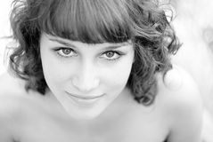 Sylwia in BW Stock Image