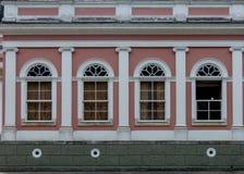 Symétrie aux polis de ³ de Museu Imperial de Petrà photos stock