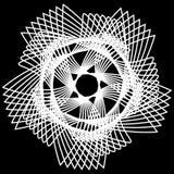 Symétrie géométrique d'astrologie de modèle Photographie stock