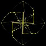 Symétrie géométrique de modèle Images libres de droits