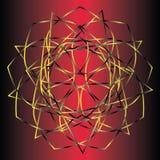 Symétrie géométrique de modèle Image stock