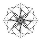 Symétrie géométrique de modèle Photos libres de droits