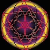 Symétrie géométrique de modèle Photo libre de droits