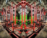 Symétrie industrielle photographie stock