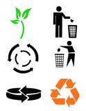 Sym environnemental d'économie Photographie stock libre de droits