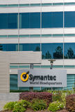 Symantec World Headquarters Building and Logo. MOUNTAIN VIEW, CA/USA - JULY 30, 2017: Symantec world corporate headquarters and logo. Symantec is an American royalty free stock photo