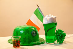 Symbo;s Of Saint Patrick's Day Stock Images