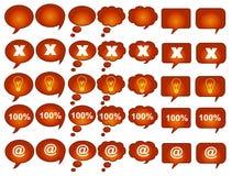 symbol 01 stock illustrationer