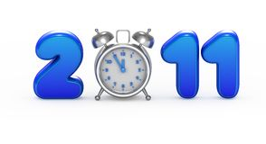 Symbol of 2011 year Royalty Free Stock Photos