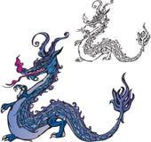 Symbol 2012 dragon Royalty Free Stock Photos