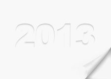 Symbol of 2013 year Stock Photos