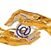 At symbol Royalty Free Stock Image