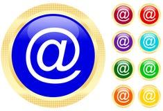 AT symbol Stock Images