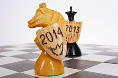 Symbol of 2014 Stock Images
