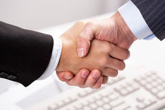 Symbol of agreement Stock Photo