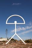 Symbol of Almeria Province, Spain Stock Photos