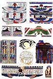 Symbol of ancient egypt Stock Image