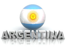 Symbol of Argentina Royalty Free Stock Image