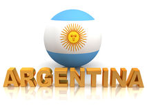 Symbol of Argentina Stock Photography