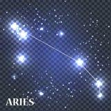 Symbol Aries Zodiac Sign. Vector Illustration. Royalty Free Stock Photography