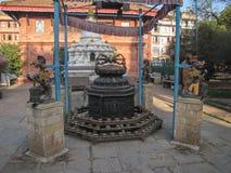 Symbol Arms of Indra In Kathmandu Stock Photo