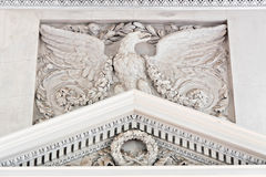 Symbol in arts - antique imperial eagle. Royalty Free Stock Image