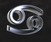 symbol astrologia raka ilustracji