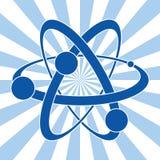 symbol atom Obrazy Royalty Free
