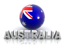 Symbol of Australia Stock Image