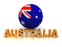 Symbol of Australia Royalty Free Stock Photo