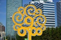 Symbol av Astana Arkivbilder