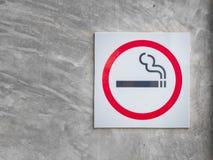 Symbol av att röka zon Arkivbild