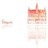 Symbol av Belgien Arkivbild