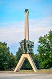 Symbol av den Tychy staden i Polen Royaltyfri Bild