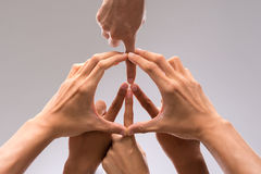 Symbol av fred Arkivbild