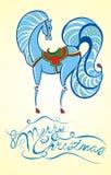 Symbol av 2014.Horse Arkivbild