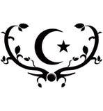 Symbol av islam vektor illustrationer