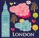 Symbol av London Royaltyfri Foto