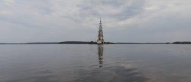 Symbol av staden av Kalyazin i den centrala Ryssland Arkivbilder