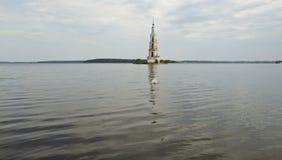 Symbol av staden av Kalyazin i den centrala Ryssland Royaltyfri Fotografi