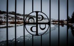Symbol av Thingvellir Royaltyfria Foton