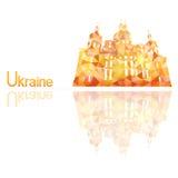 Symbol av Ukraina Arkivfoto