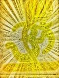 Symbol bóg Zdjęcie Royalty Free