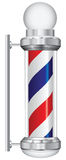 Symbol barber lamp. Symbol for a barber with lamp. Vector illustration Royalty Free Stock Images
