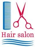 Symbol of barbershop Stock Photos