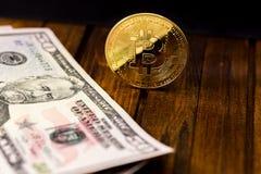 Symbol bitcoin Royalty Free Stock Photography