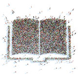 Symbol of a Book. Royalty Free Stock Photography