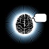 Symbol brain Royalty Free Stock Photography