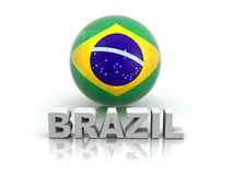 Symbol of Brazil Royalty Free Stock Image