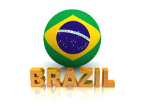 Symbol of Brazil Royalty Free Stock Photography